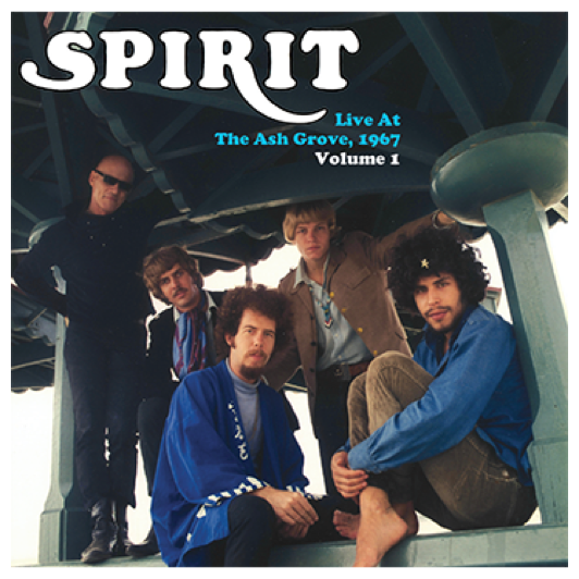 SPIRIT - Live At The Ash Grove, Vol. 1. Double LP with gatefold sleeve. Post to ROW